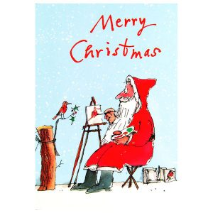 John Lewis for Childline - Woodmansterne Quentin Blake Assortment Charity Christmas Card