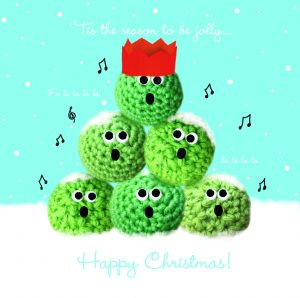 GOSH - Merry Sprouts Charity Christmas Card