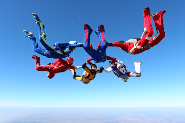 Skydiving for charity or a good cause